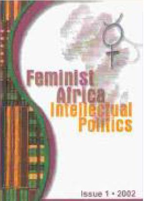 Feminist Africa Issue 1 - Cover